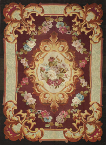 Antique Aubusson rug, 19th Century, 300 x 200 cm