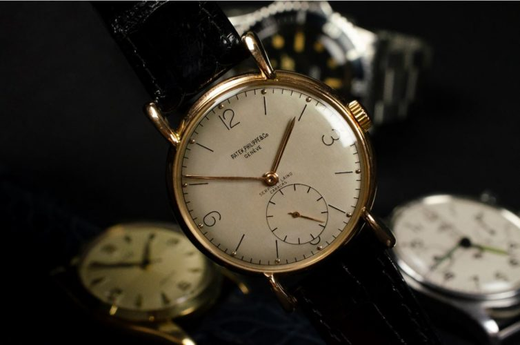 Patek Philppe wristwatch from 1947 exclusively made by Patek Philippe for the retailer Serpico y Laino in Caracas.