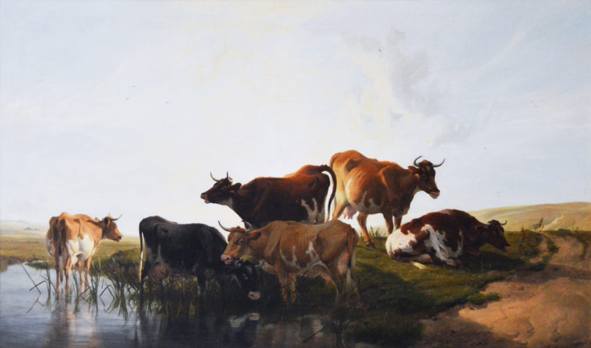 Thomas Sidney Cooper, British (1803-1902), Cattle Resting, Oil on canvas, signed & dated T. Sidney. Cooper. R.A./1878