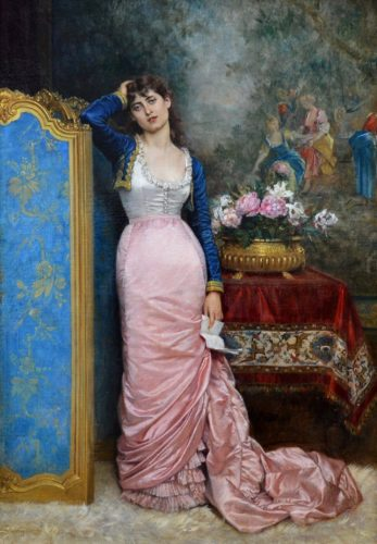 'Declaration of Love' by Auguste Toulmouche